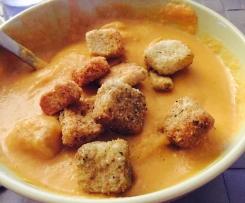 Velouté de carotte au curry