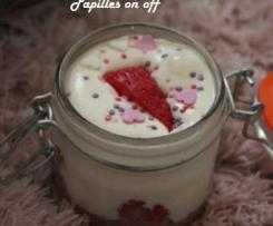 Tiramisu aux fraises et biscuits roses de Reims