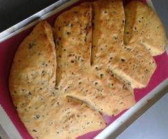 Fougasse olives et feta