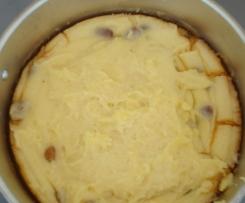 Gâteau de semoule aux raisins secs