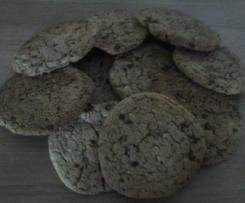 Cookies XXL trois chocolats