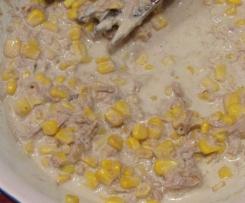 salade rapide thon maïs mayonnaise