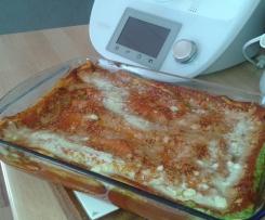 Lasagnes brocolis et bleu