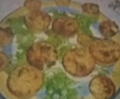 Flan de surimi et de petites asperges