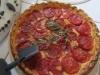 Tarte aux tomates et comté, au parfum d'estragon