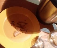 Soupe crèmeuse au pommes