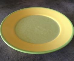 Soupe aux fanes de radis et Kiri