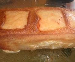 Cake au fromage à raclette et au lardons fumés