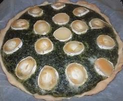 tarte épinard saumon chevre