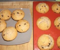 Muffins noix et pépites de chocolat