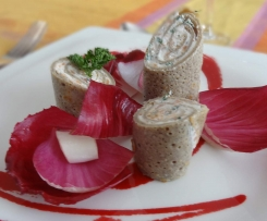 galettes au saumon