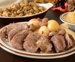 Rôti de porc vapeur aux pommes de terre au Thermomix
