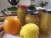 Confiture de rhubarbe-citron-orange