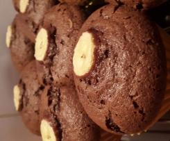 Gateau Moelleux Chocolat & Banane