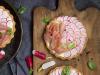 Tarte aux radis et jambon cru