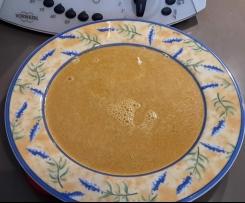 Soupe de pois cassés au lait de coco