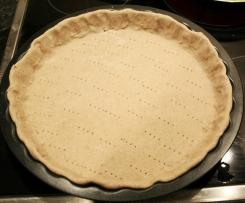 Pâte à tarte Light sans beurre