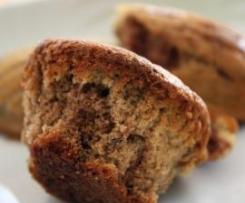 Muffins Okara marbrés (au matcha) sans gluten (sans lait) {Recette de végécarib}
