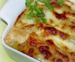 Cannellonis de poulet aux légumes