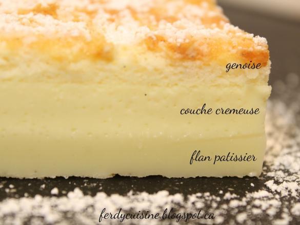 Gateau a la vanille recette
