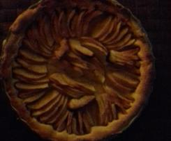 Variante tarte au pomme