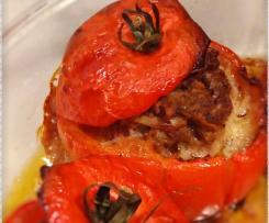 Tomates farcies à la façon de Cyril Lignac