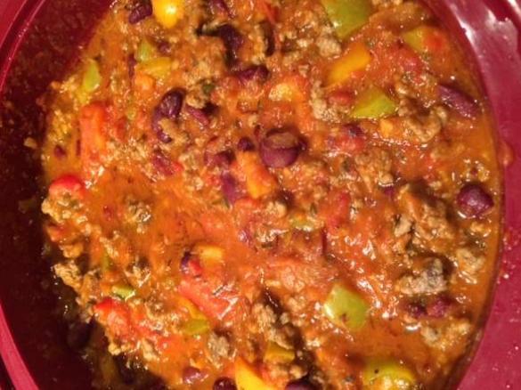 Chili con carne ww par fraguija une recette de fan retrouver dans la cat gorie plat principal - Recette chili cone carne thermomix ...