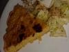 Quiche aux poireaux, butternut et thon