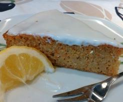 Carot cake aux épices et son  glaçage blanc