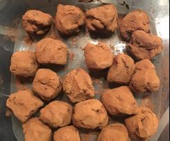 Truffes au chocolat recette facile et allégée