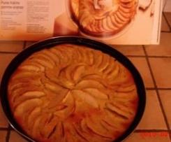Clafoutis de pommes à la coco