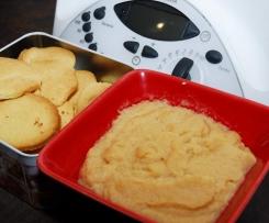 Compote aux biscuits sablés
