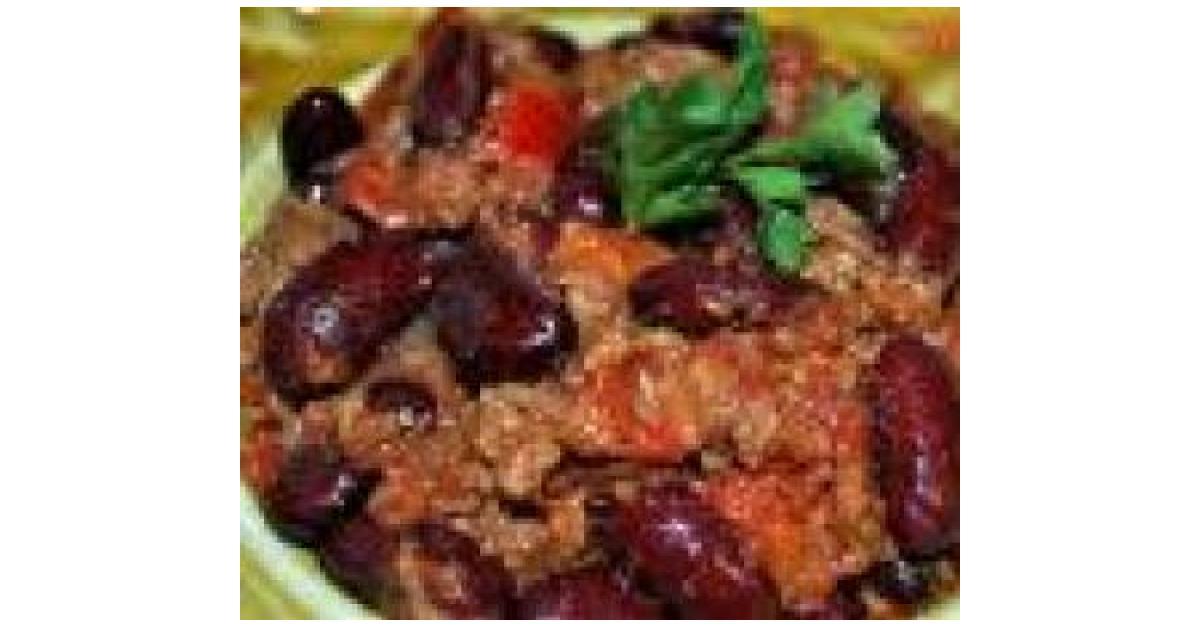 Chili con carne par fany21 une recette de fan retrouver dans la cat gorie plat principal - Recette chili cone carne thermomix ...