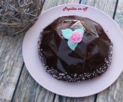 Entremets chocolat framboises