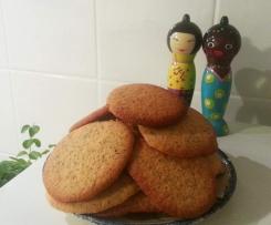 Cookies miel citron pavot
