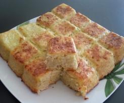 Gâteau pomme de terre et oignon