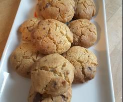 Cookies moelleux au chocolat fondant