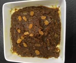 confiture d'oignons à la marocaine