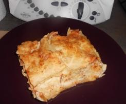 Lasagnes au thon et légumes