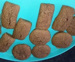 petits gâteaux chocolat aux blancs d'oeuf