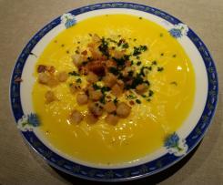 Soupe de carottes à la normande