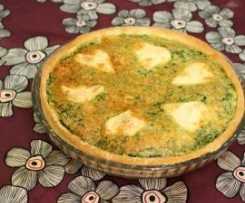 Tarte saumon épinards