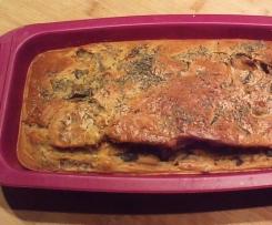 Cake Provençal, Aubergines / Tomate