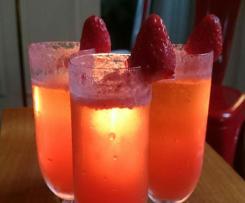 Jayne Mansfield Cocktail - Fête des fraises