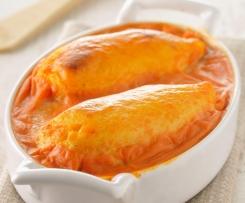 Quenelles gratinées à la sauce tomate