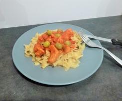 Sauté de porc tomate olive