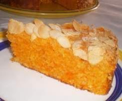 Gâteau amande carotte canelle (recette portugaise)