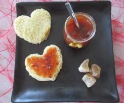 Confiture aphrodisiaque prune/gingembre/clou de girofle/miel