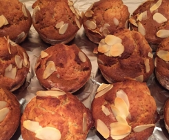 Muffin farine d'épautre et sirop d'agave