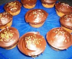 Bouchées de  pain d'épices au chocolat croquant